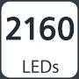 2160 leds