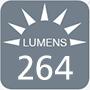 264 lumens