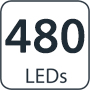 480 lumens
