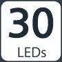 30 LEDs