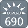 428 lumens