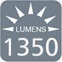 1350 Lumens