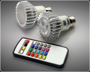 Color Changing Par20 LED Bulb