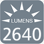 2640 lumens