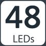 48 LEDs