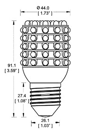 P 47436 Infrared LED Light Emitter 900'L X 100'W Spot Beam 24 3Watt LEDs Mag ic Mount 942 Volts additionally 600 Watt Hps Distance From Canopy moreover 270658750599 furthermore Light Wavelength Ch as well Index. on led light spectrum chart
