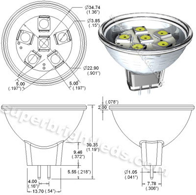 MR11 WHP6 mr11 led bulb 15 watt equivalent bi pin led flood light bulb Basic Electrical Wiring Diagrams at gsmx.co