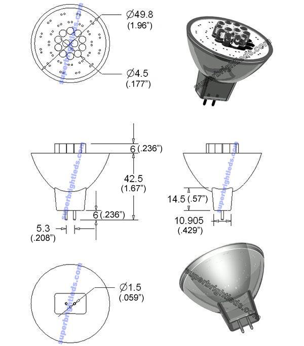 MR16-x12 Diagram