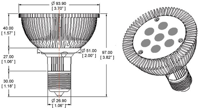 PAR30D-x7X1-30 Diagram