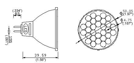 MR16-W30 Diagram