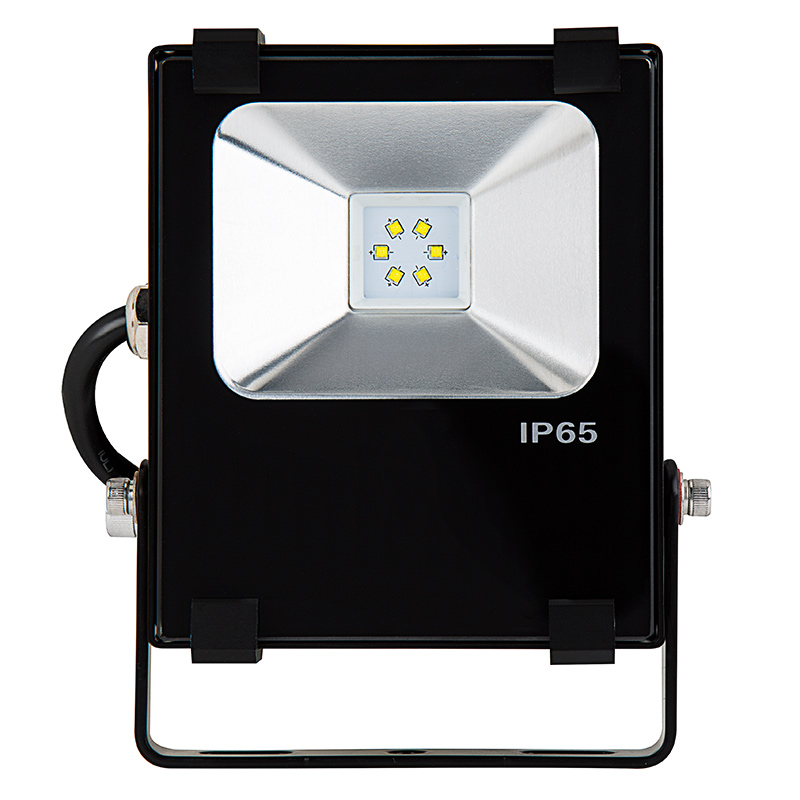 Led Flood Light High Power: 10 Watt High Power LED Flood Light Fixture In Cool White