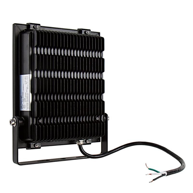 Led Light Fixture Wattage: 50 Watt High Power LED Flood Light Fixture In Natural
