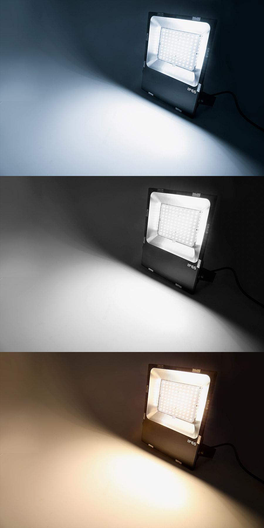 100 Watt LED Flood Light Fixture 3000K 4000K 6000K 250
