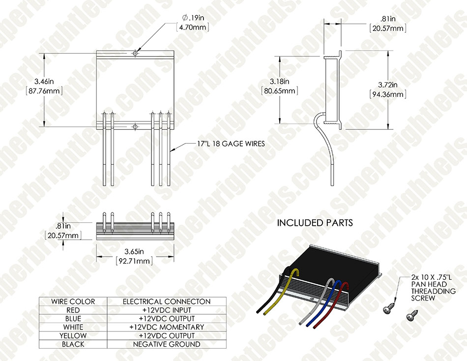111005sfhd for site sho me heavy duty strobe led flasher led strobe controllers sho me light bar wiring diagram at aneh.co