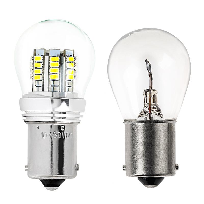 Led Bulb Cover: 1156 LED Bulb W/ Stock Cover