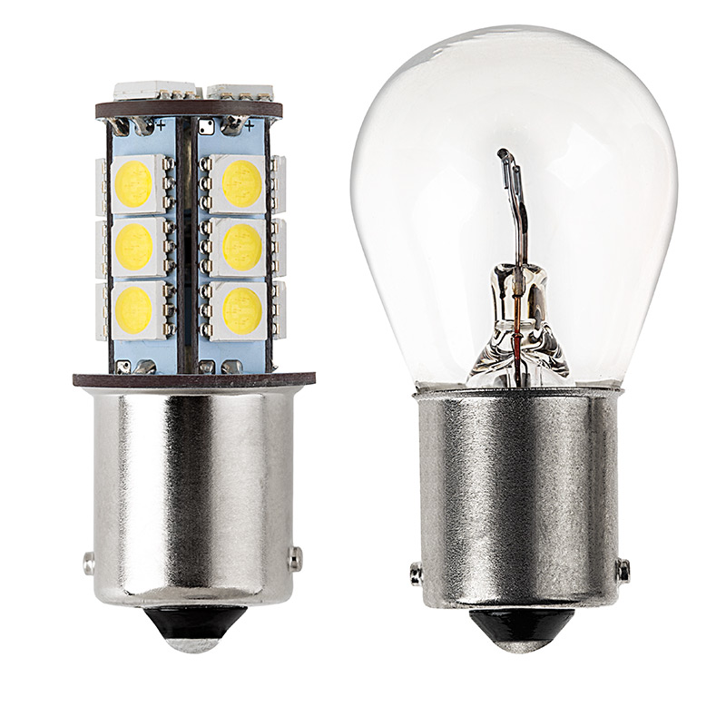 1156 Led Boat And Rv Light Bulb 18 Smd Led Tower Ba15s Retrofit 325 Lumens Led Brake
