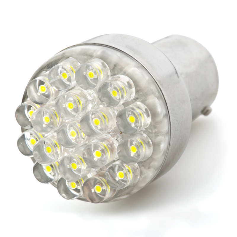 1156 led bulb single intensity 19 led led brake light. Black Bedroom Furniture Sets. Home Design Ideas