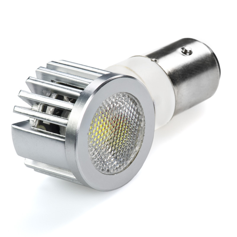 1157 Led Bulb Dual Intensity 2 Watt Adjustable Right Angle Led Brake Light Turn Light And