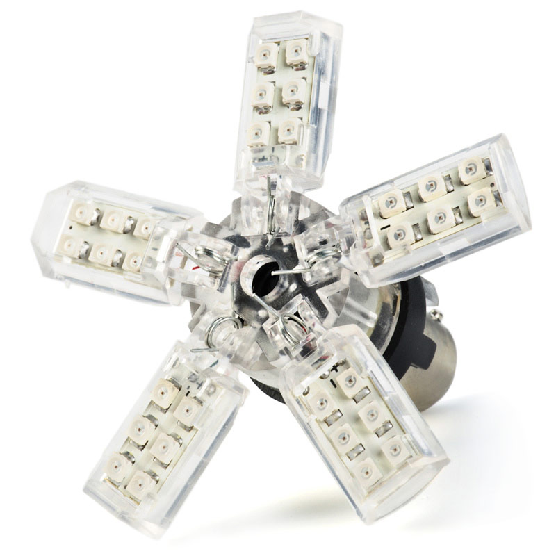 1157 led bulb dual function 30 smd led spider bay15d retrofit 1157 led bulb dual intensity 30 smd led spider