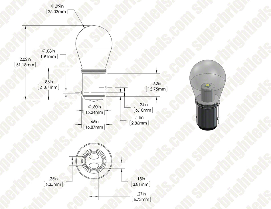 1157 cw1w g main body digimark 1157 led bulb w stock cover dual function 1 high power led 1157 bulb wiring diagram at crackthecode.co