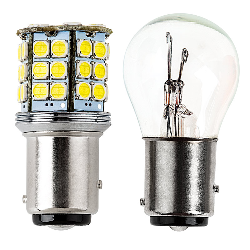 1157 led bulb dual function 45 smd led tower bay15d retrofit 1157 led bulb dual function 45 smd led tower bay15d retrofit profile view