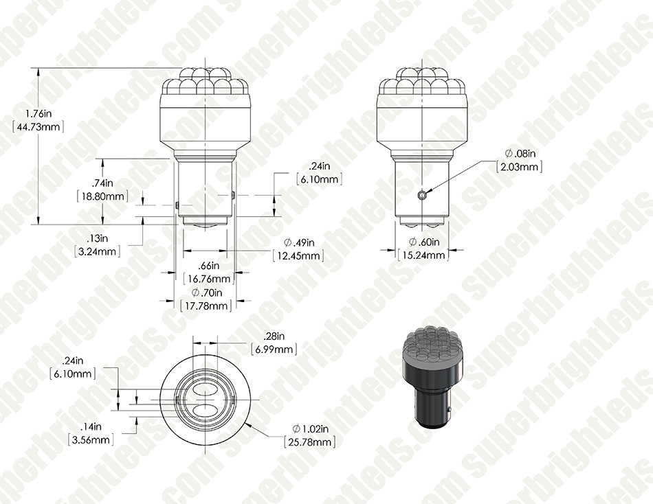 1157 w19 for site 1157 led bulb dual function 19 led forward firing cluster 1157 wiring diagram at bakdesigns.co