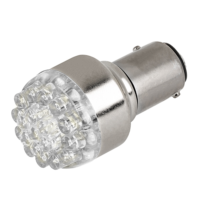 1157 led bulb dual function 19 led forward firing. Black Bedroom Furniture Sets. Home Design Ideas