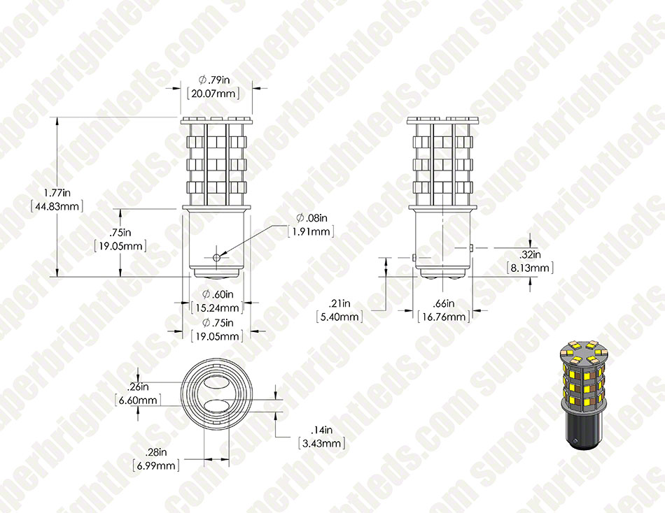 1157 wa60 sb main body digimark 1157 switchback led bulb dual function 60 smd led tower b type 1157 wiring diagram at bakdesigns.co