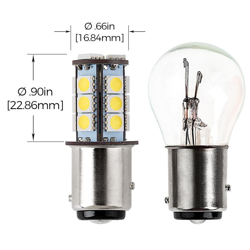 1157 led bulb dual function 18 smd led tower bay15d. Black Bedroom Furniture Sets. Home Design Ideas