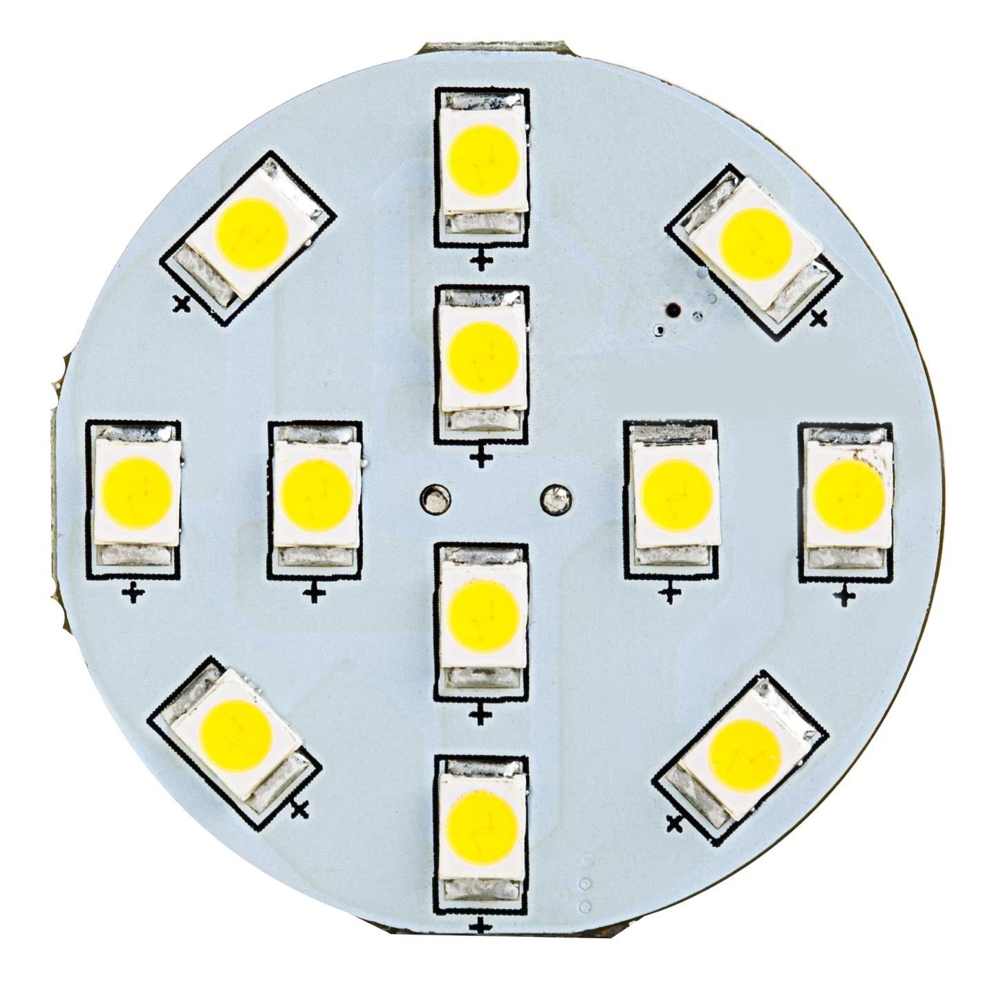 12-led-g4-lamp-disc-type-back-pin-front Elegantes High Power Led Dekorationen