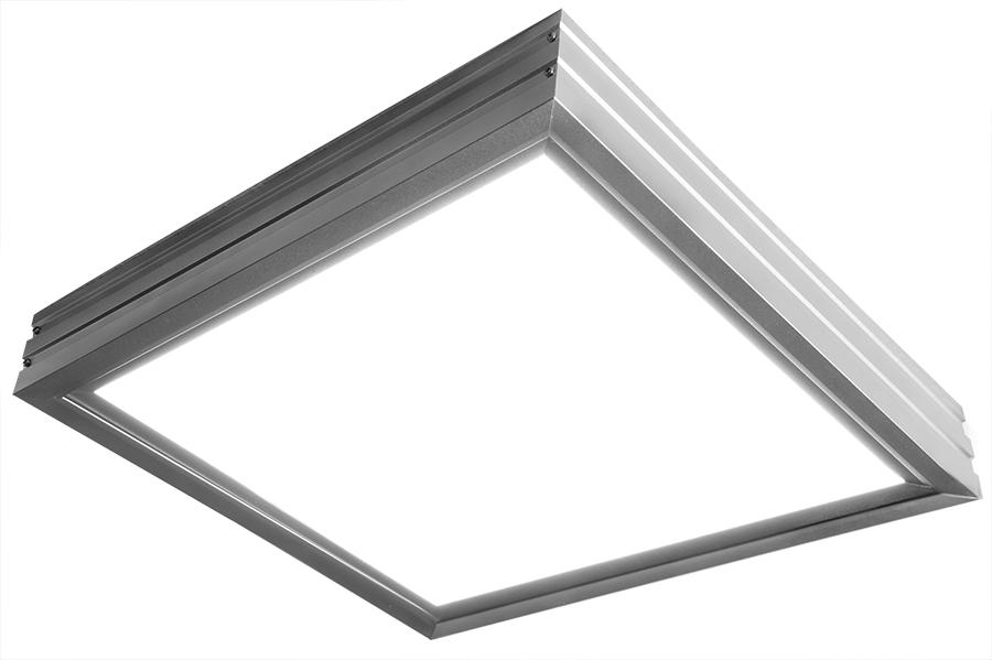 led panel light mounting bracket kit for 12 x 12 led panels super bright leds. Black Bedroom Furniture Sets. Home Design Ideas