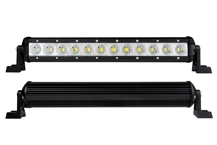 14 compact off road led light bar 27w 2015 lumens super 14 compact off road led light bar 36w front back views aloadofball Gallery