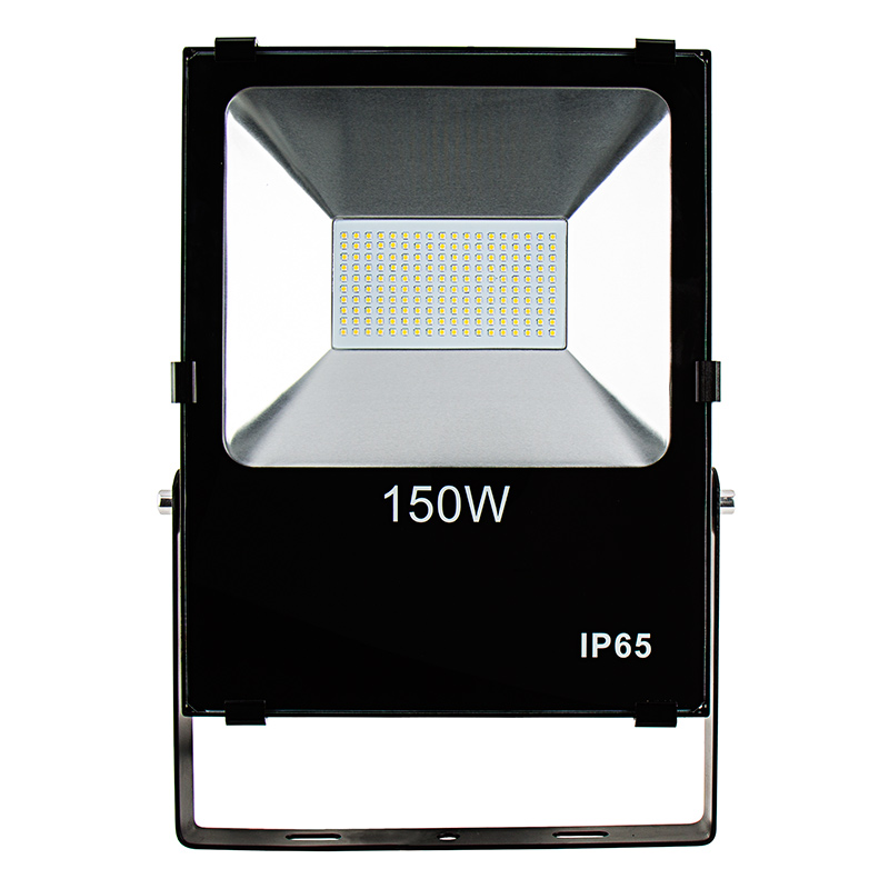 150 watt high power led flood light fixture in natural white led. Black Bedroom Furniture Sets. Home Design Ideas