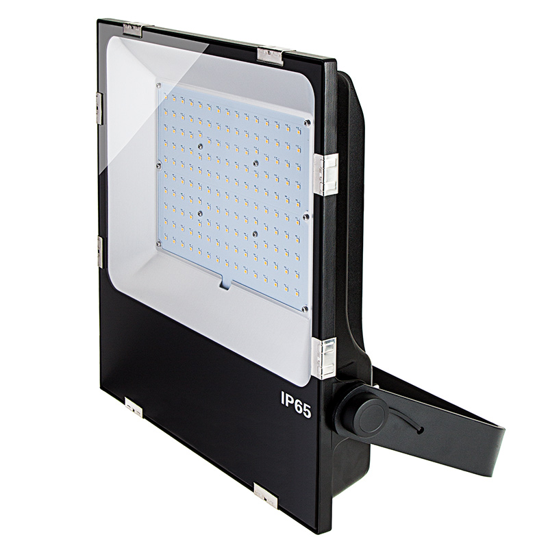 150 watt led flood light fixture 3000k 4000k 6000k 400. Black Bedroom Furniture Sets. Home Design Ideas