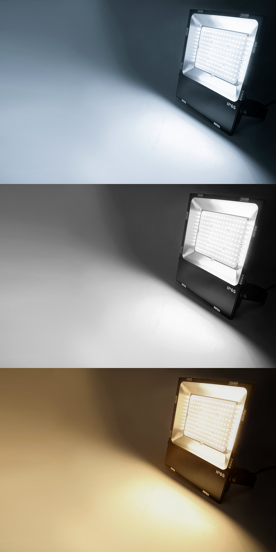 x products watt flood light seelite w glass true warm lighting led d