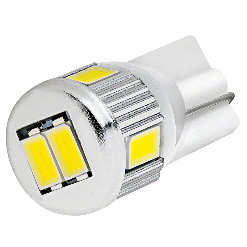 194 Led Bulb 6 Smd Led Tower Miniature Wedge Retrofit Miniature Wedge Base Leds Led Car