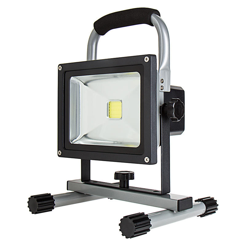 20w portable rechargeable led work light dimmable. Black Bedroom Furniture Sets. Home Design Ideas