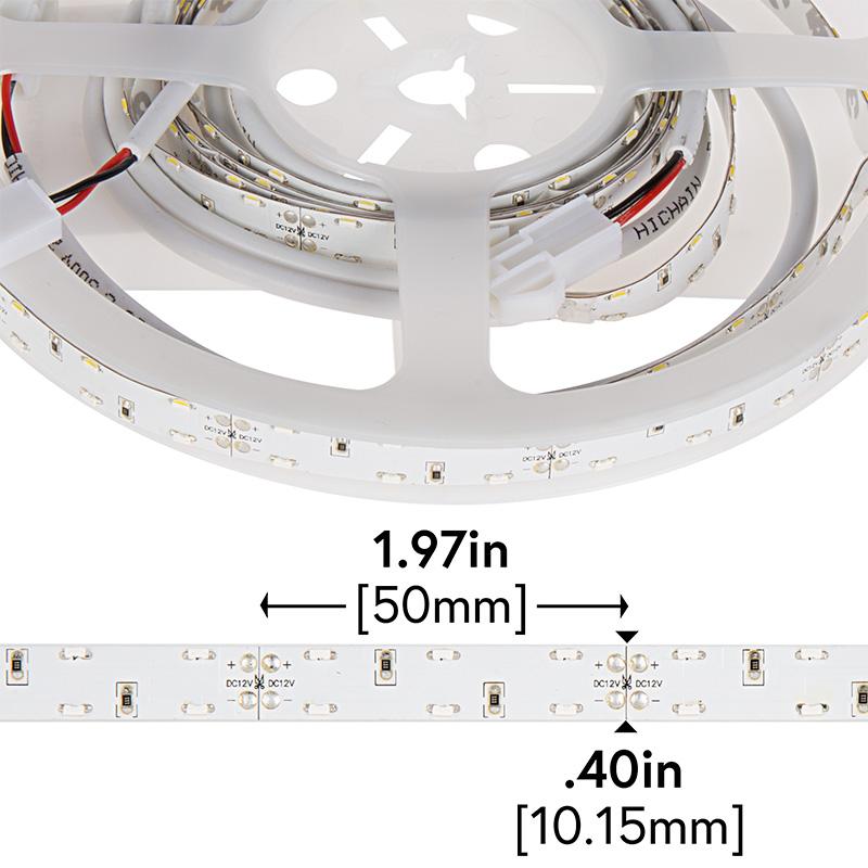 dual row led strip lights with pigtail connector 12v led. Black Bedroom Furniture Sets. Home Design Ideas