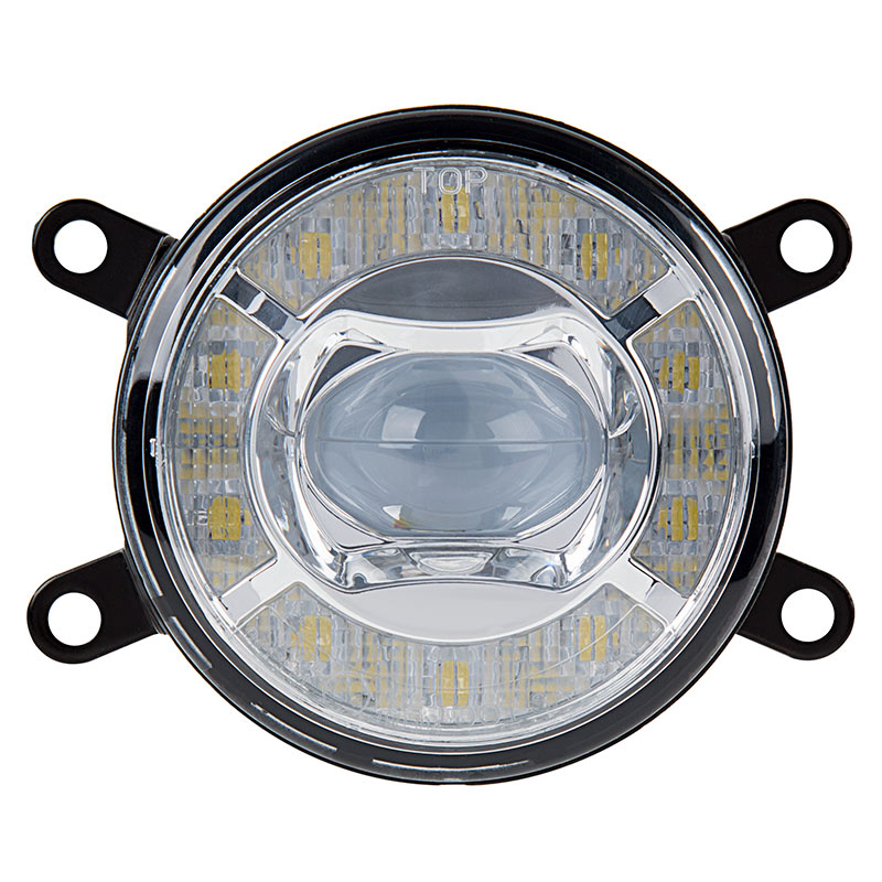 lights round light inch fog cree lighting led