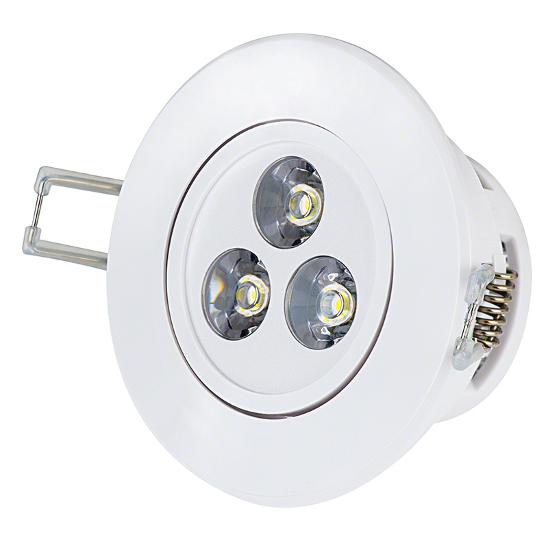 3 Watt LED Recessed Light Fixture - Aimable  sc 1 st  Super Bright LEDs & LED Recessed Light Fixture - Aimable - 30 Watt Equivalent - 3.5 ... azcodes.com