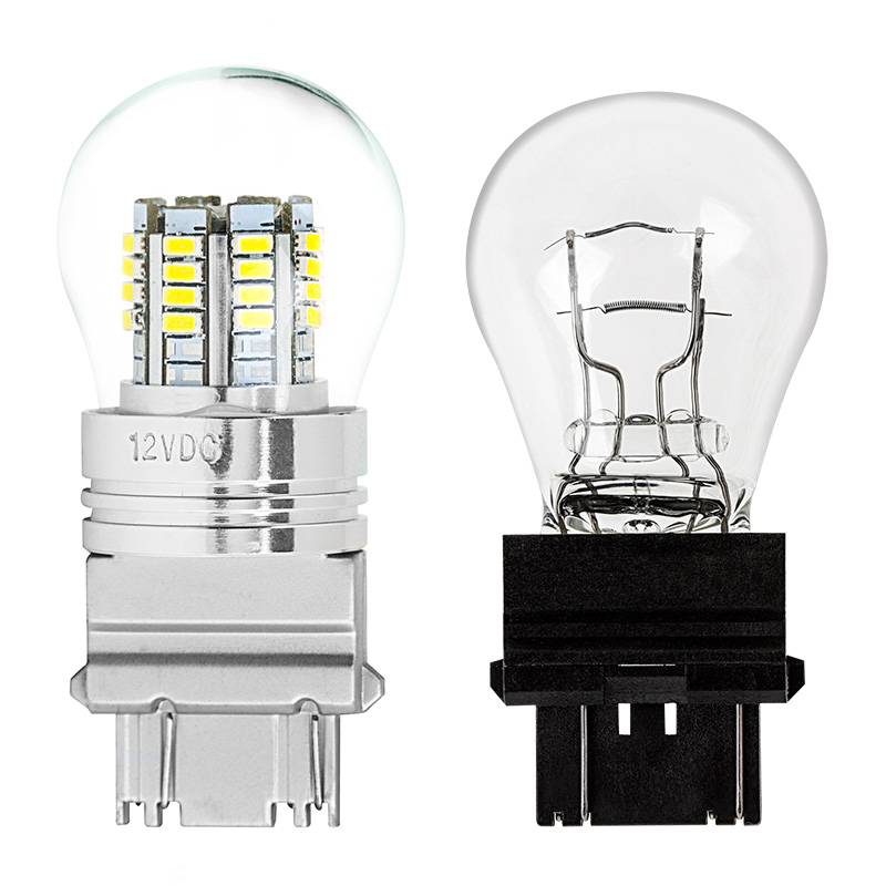 Led Bulb Cover: 3157 LED Bulb W/ Stock Cover