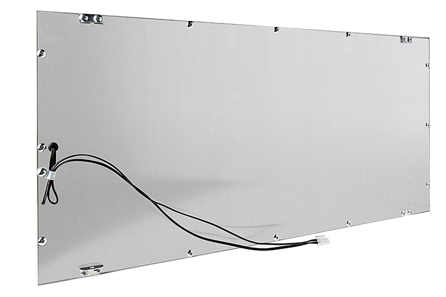 dimmable 36w led panel light fixture 1ft x 2ft back view