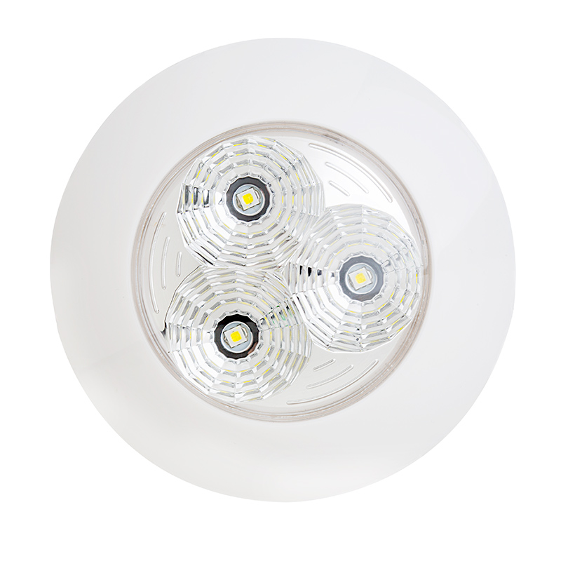 Led Round Vanity Lights : 3.25? Round LED Dome Light Fixture - 30 Watt Equivalent - 300 Lumens Dome, Puck, & Recessed ...