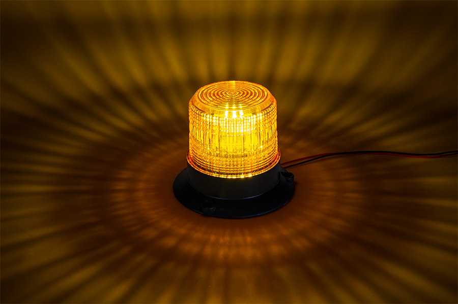 4 3 4 Amber LED Strobe Light Beacon With 10 LEDs LED Truck And Traile