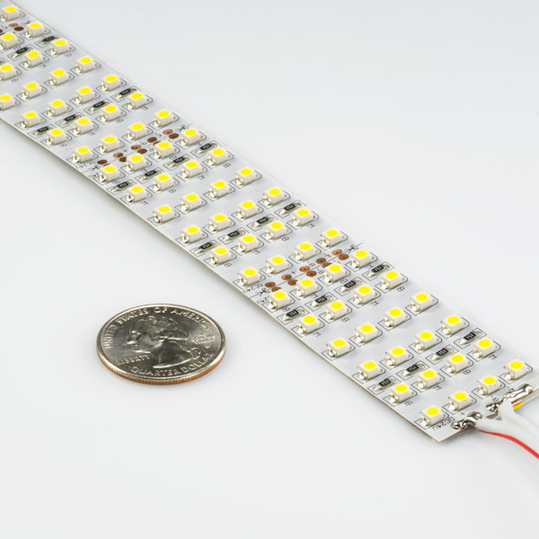 Brightest Led Light Strips Quad Row Led Tape Light With