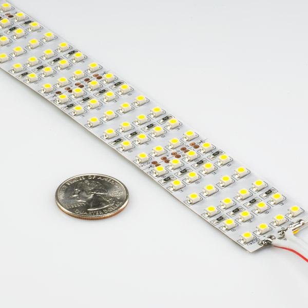 Bright White Led Strip Lights 24v Led Tape Light Quad