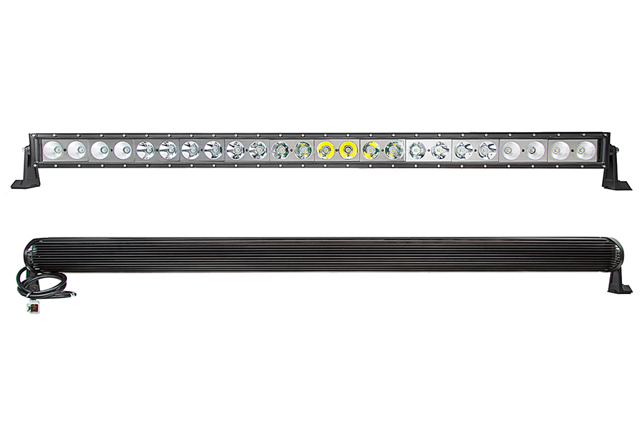 50 off road led light bar with spotflood combo beam 240w led 50 off road led light bar with spotflood multi beam 240w front back view aloadofball Choice Image