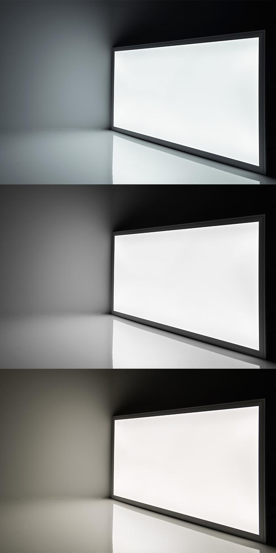 led panel light 2x4 5 600 lumens 50w even glow. Black Bedroom Furniture Sets. Home Design Ideas