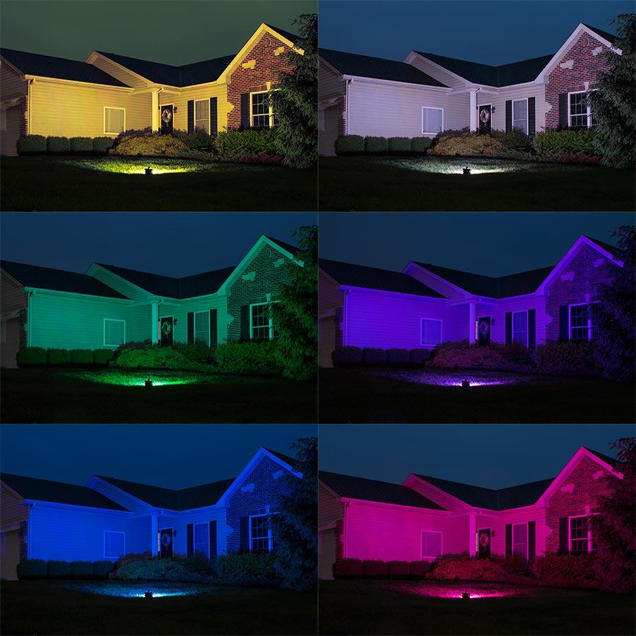 50w Color Changing Wi Fi Led Flood Light Rgb White