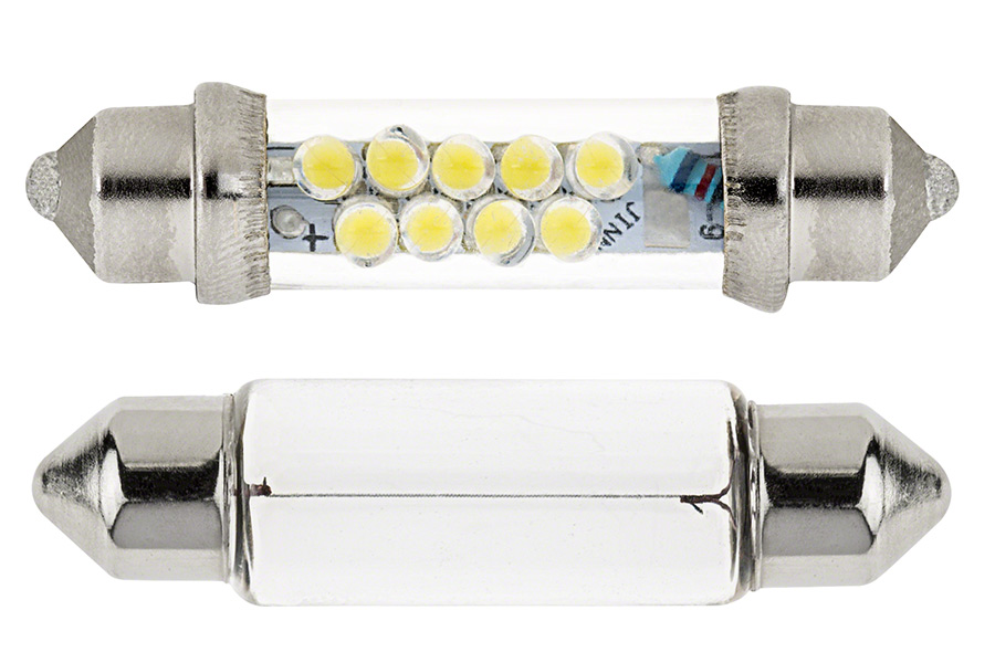 578 Led Bulb 9 Led Festoon 44mm Festoon Base Led Bulbs Led Car Light Bulbs Super